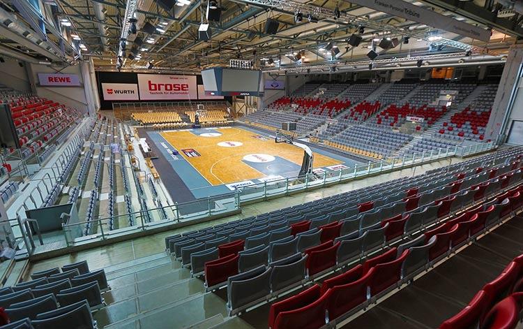 Bevenue Beratungsprojekt Bamberg - Brose Arena