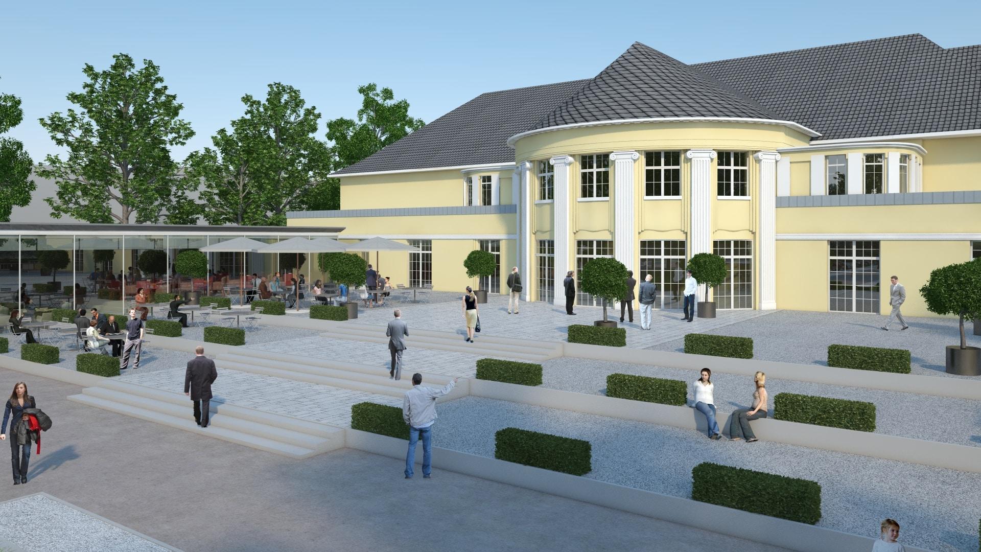 Bevenue Beratungsprojekt Stadthalle Bocholt Brauhaus